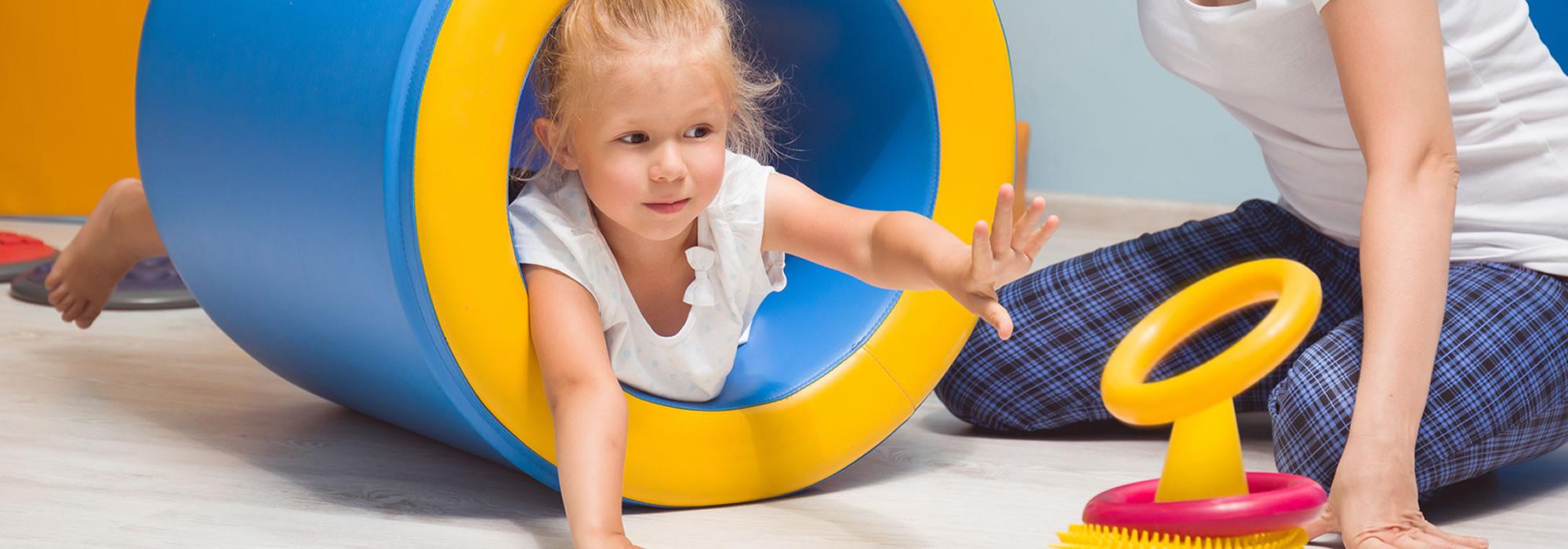 Ergotherapeuten schenken Kindern Freude