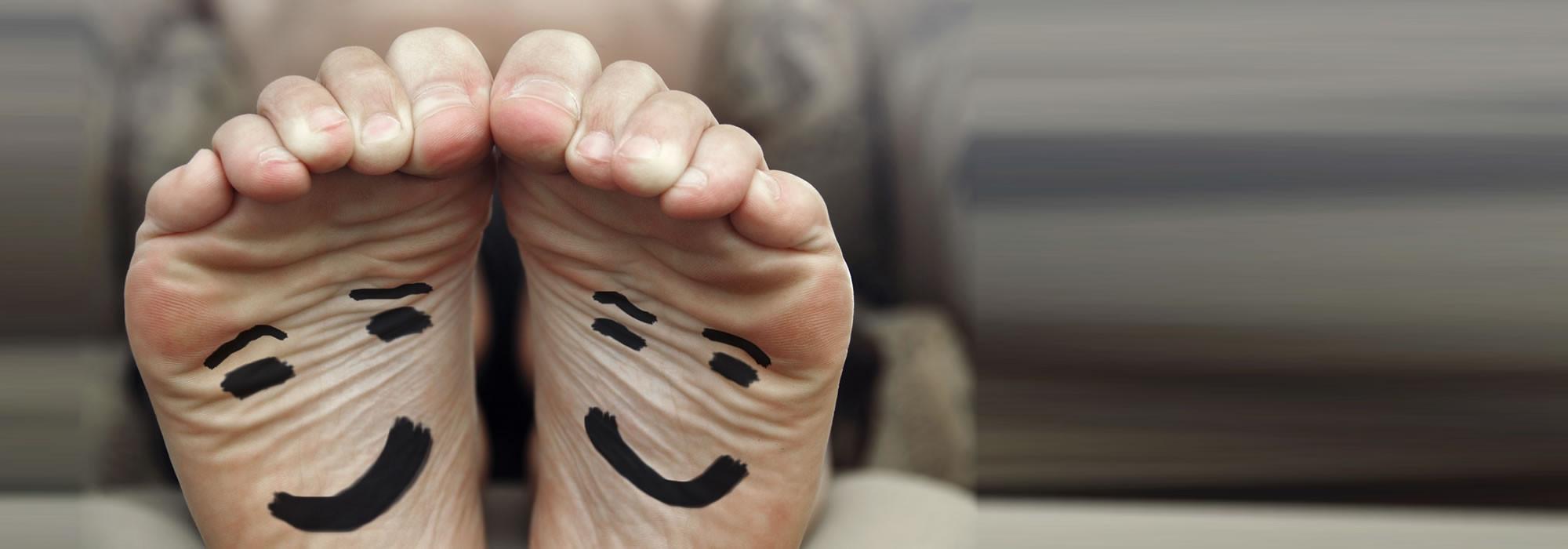 Ist der Fuß gesund, freut sich der Mensch.